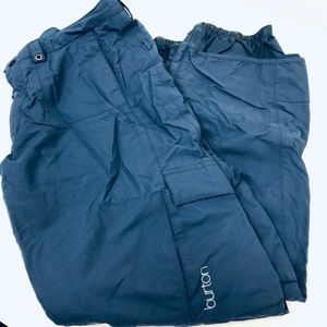 Burton Blue Adjustable Waist Snowboarding Pants